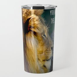 Darling You Bring Out The LION In Me... Travel Mug