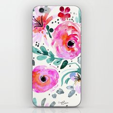 Colby Floral iPhone & iPod Skin