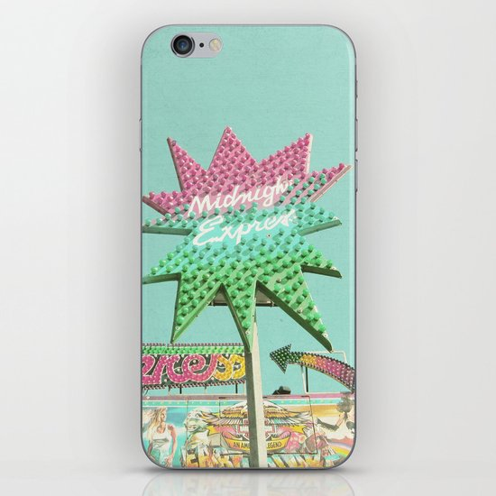 Up in Lights iPhone & iPod Skin