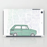 indie iPad Cases featuring Indie by Tuylek