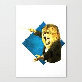 Big 5 Virtuoso - Lion Canvas Print
