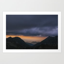Sunset is my favorite color Art Print