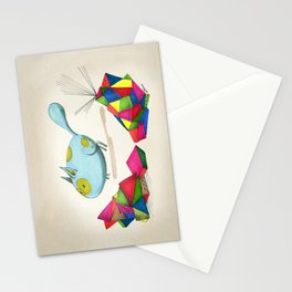 Thecno Blue Stationery Cards