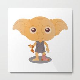 Dobby the free elf Metal Print