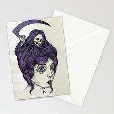 Tänk på döden Stationery Cards