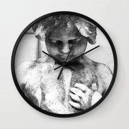 Cherub Statue in Buenos Aires Wall Clock