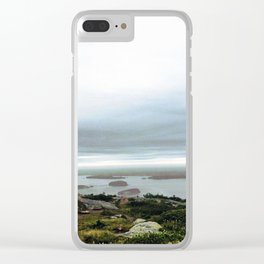 Cadillac Mountain Clear iPhone Case