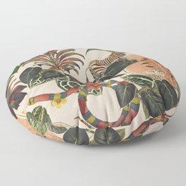 Jungla Crema Floor Pillow