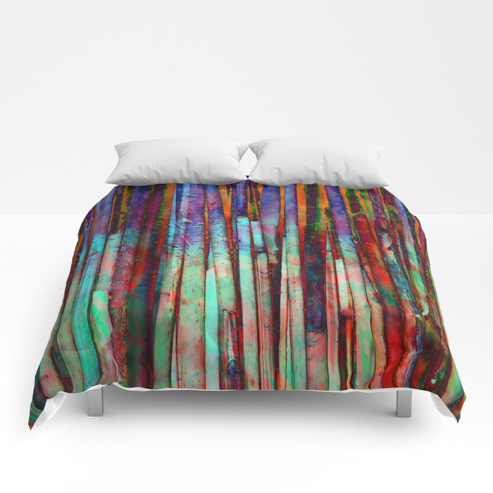 Colored Bamboo 2 Comforters