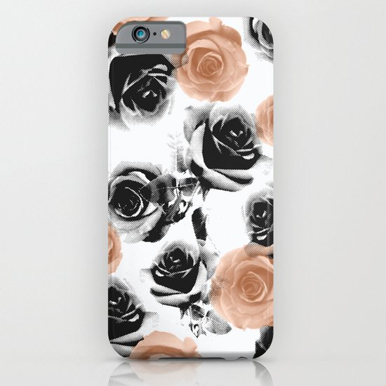 pixel rose iPhone & iPod Case