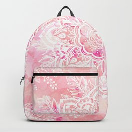 Queen Starring of Mandalas-Rose Backpack