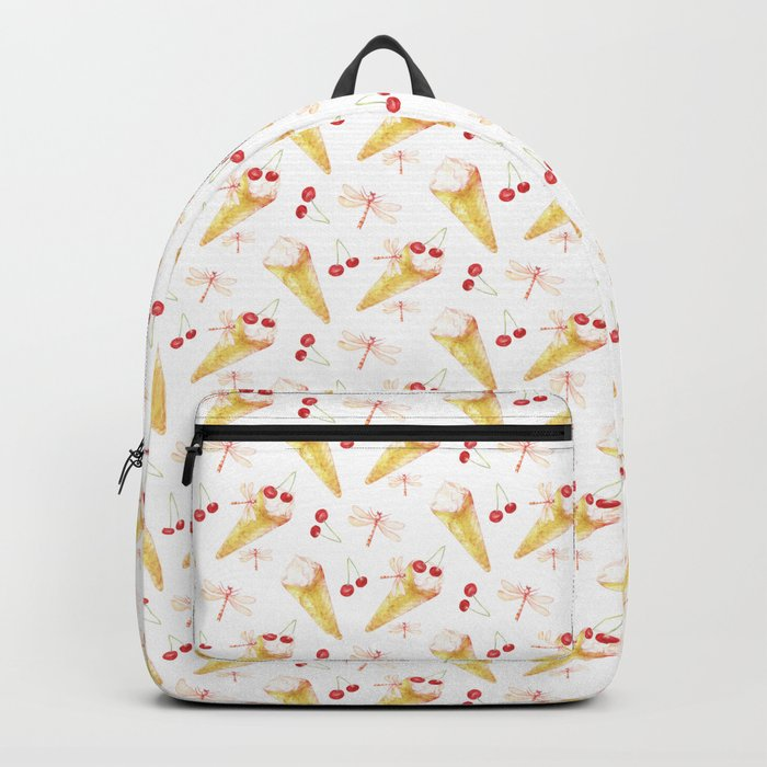 Dragonfly Chill Pattern Backpack