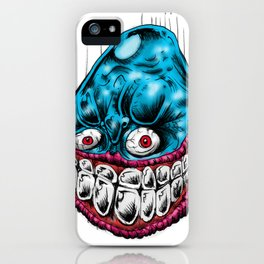 Blue Boy iPhone Case