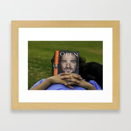 Taking a snooze Framed Art Print