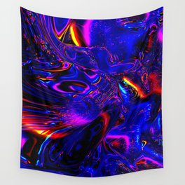 Psych Waves Wall Tapestry
