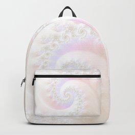 Ocean Treasure -- Mother of Pearls Mandelbrot Backpack