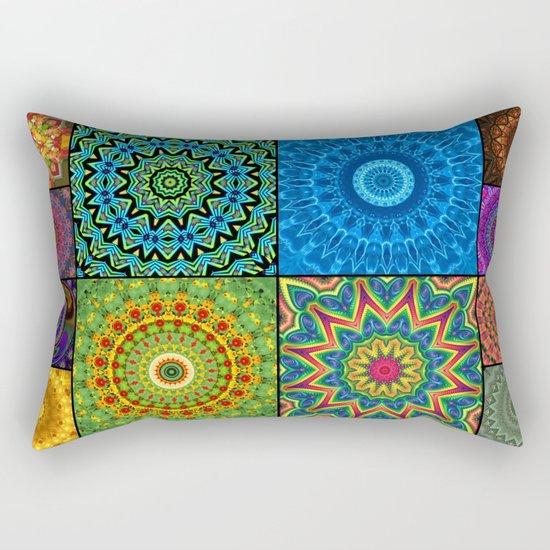 Mandala Madness Rectangular Pillow