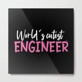 Engineer Metal Print