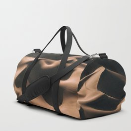 Lovers in the Sand - Aerial Landscape Photography Duffle Bag