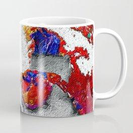 John F Kennedy Cigar And Sunglasses Colorful Coffee Mug