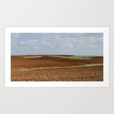 Natural Colors (1) Art Print