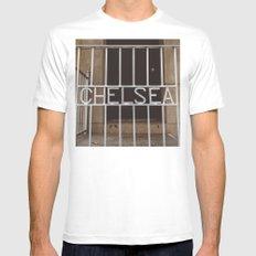 Chelsea II White Mens Fitted Tee MEDIUM