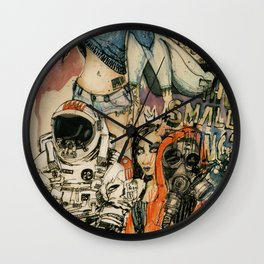 The Small Things Wall Clock