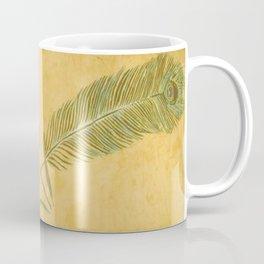 Peacock Batik Coffee Mug