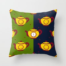 tea time .0 Throw Pillow