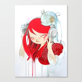 That Bass! Canvas Print