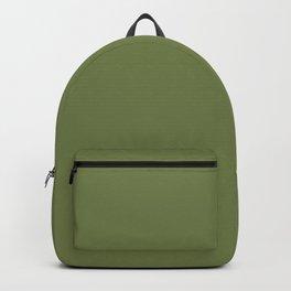 Blonde Beauty ~ Field Green Backpack