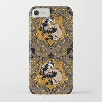 hufflepuff iPhone & iPod Cases featuring Hufflepuff by Cryptovolans