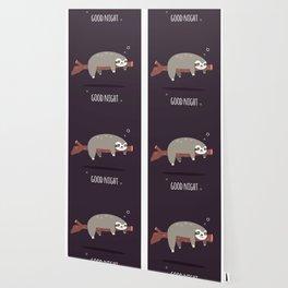 Sloth card - good night Wallpaper