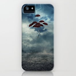 Rise me Up iPhone Case