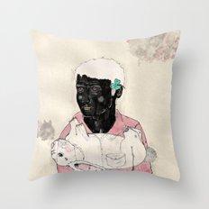 Lucky-Girly you Throw Pillow