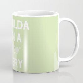 I shoulda been a * celery Coffee Mug