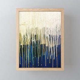 Irish Emerald Gold Framed Mini Art Print