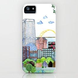 Milwaukee Watercolor iPhone Case