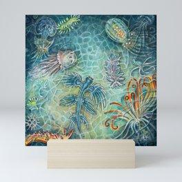 The Blue Dragon Mini Art Print
