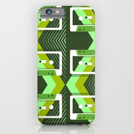 Six Mix Tapes iPhone Case