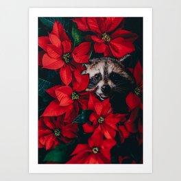 Racoon Art Prints | Society6