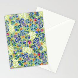 Nasturtiums and Rainbows Stationery Cards