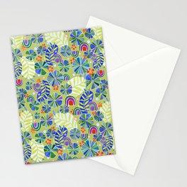 Nasturtiums and Rainbows Stationery Cards