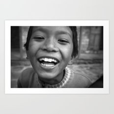 Lukla Children 3 Art Print