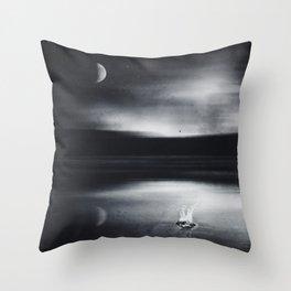 Liquid Dreams Throw Pillow