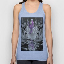 view from the Temple Unisex Tank Top