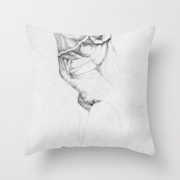 The wingless Throw Pillow