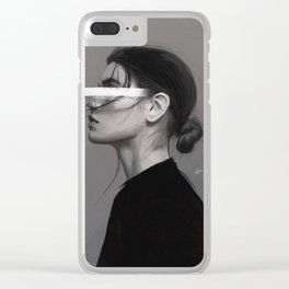 Stare Clear iPhone Case