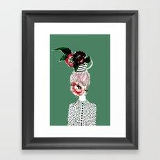 Tea Girl Framed Art Print