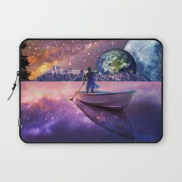 Sailing Away To The New World, From The Darkness To The Light Laptop Sleeve